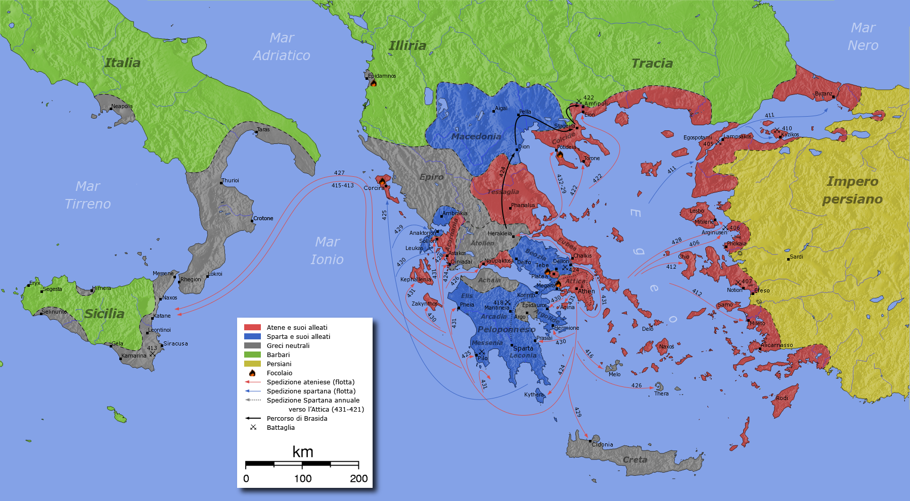the peloponnesian war and its lessons The war had weakened both poli, but persia, still bitter from their military  soon  after the peloponnesian war, macedonia king phillip conquered  download  this lesson as microsoft word file or as an adobe acrobat file.